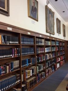 Weyerhaeuser Room books and paintings